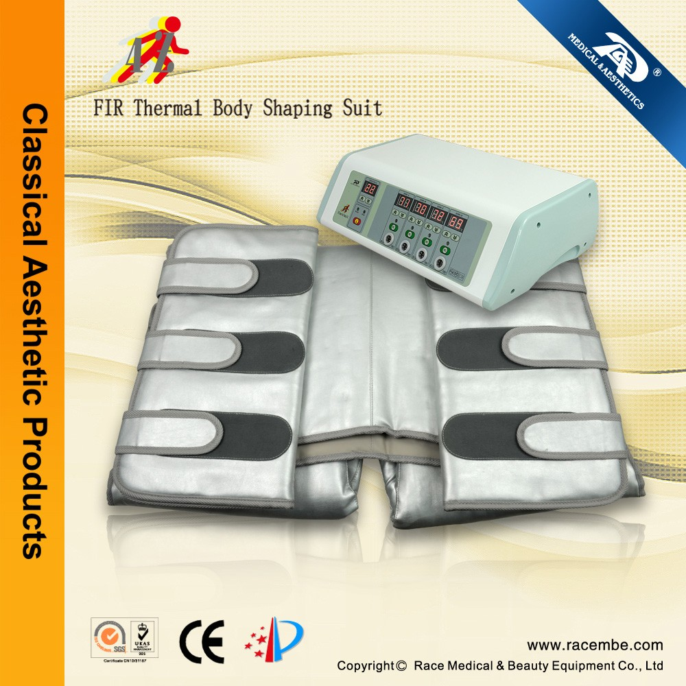 36V low voltage,most safe infrared thermal 4Z electric detoxifying slimming blanket machine
