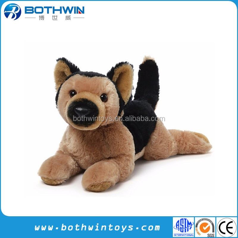 Brown Black German Shepherd Police Dog Plush Toys Buy Police Dog