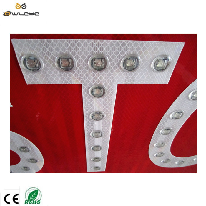 solar traffic stop sign ,led stop signal sign .traffic stop signal light