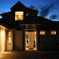 New trend product Christmas decoration supplies new night star light garden RG double colors outdoor laser projector