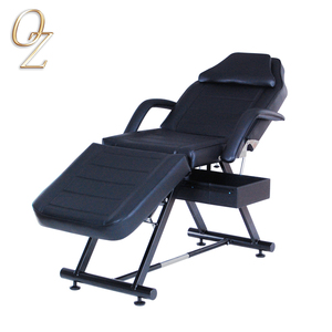 Height Adjusted Message Table Beauty Salon Massage Bed For Beauty Shop PVC Leather Medical Couch