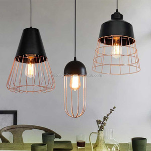 Retro Vintage Pendant Lamp wrought iron pendant light Restaurant/coffee house/bar industrial chanedlier pendant lamp