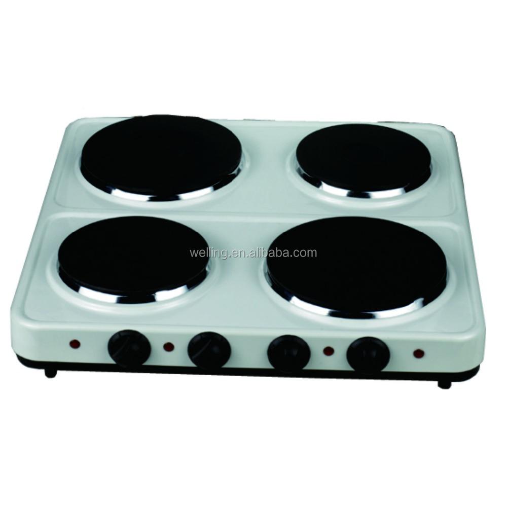4 Burner Electric Cooktop Heating Stove