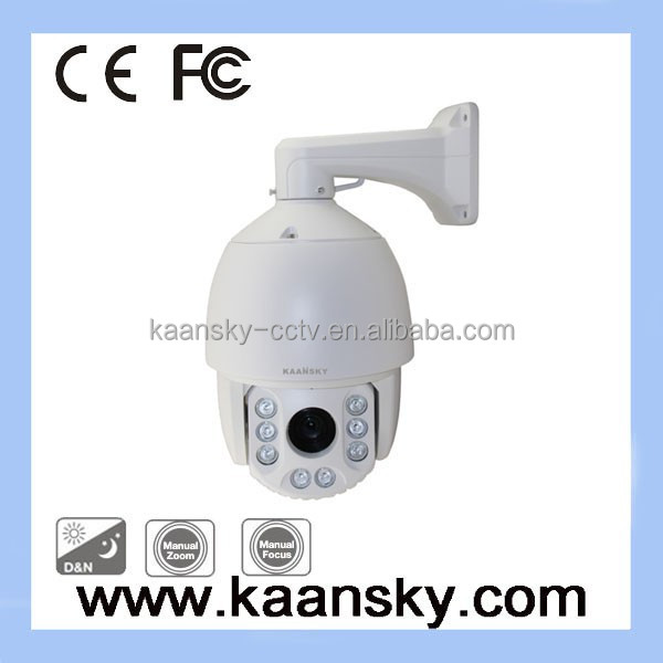 120M Night Vision 27X 1/3 700TVL Analog Auto Tracking ptz Camera