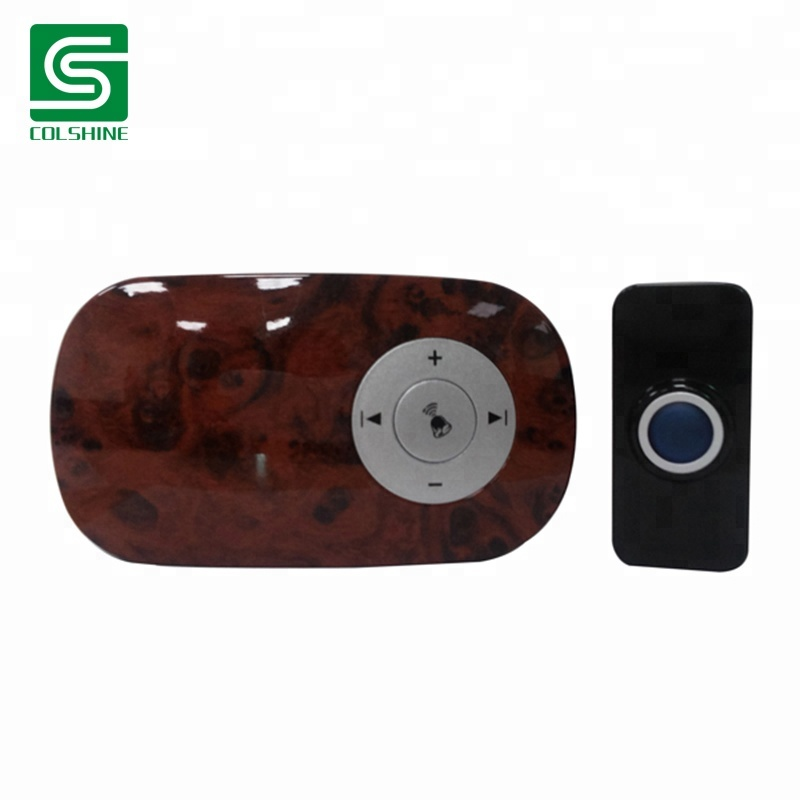 Long distance 300m DC wireless MP3 doorbell with SD & USB port