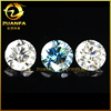 wholesale round 6.5mm loose perfect ideal cut wholesale colored moissanite