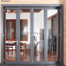 PHONPA China suppliers cheap aluminum folding door windproof/waterproof interior folding door