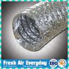 HVAC aluminum flexible wiring single foil tubes for ducting hot air duct