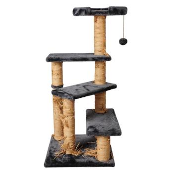 China large cat tree scratching /unique cat tree house post for cat climbing furniture products (KS1032)