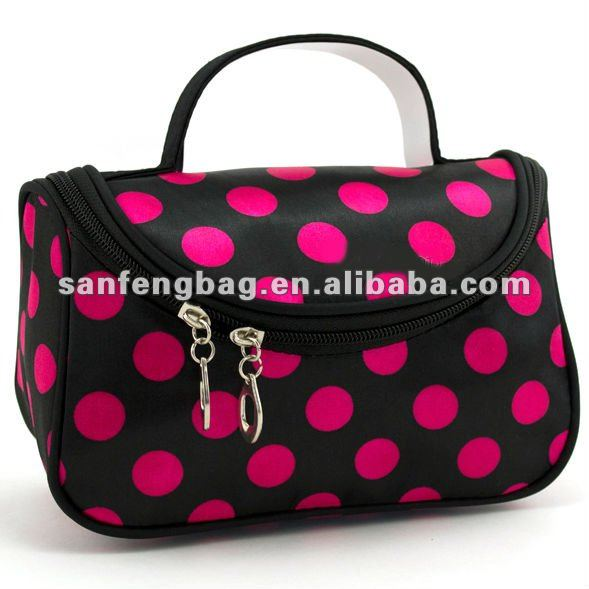 Polka Dots Cosmetic Bag