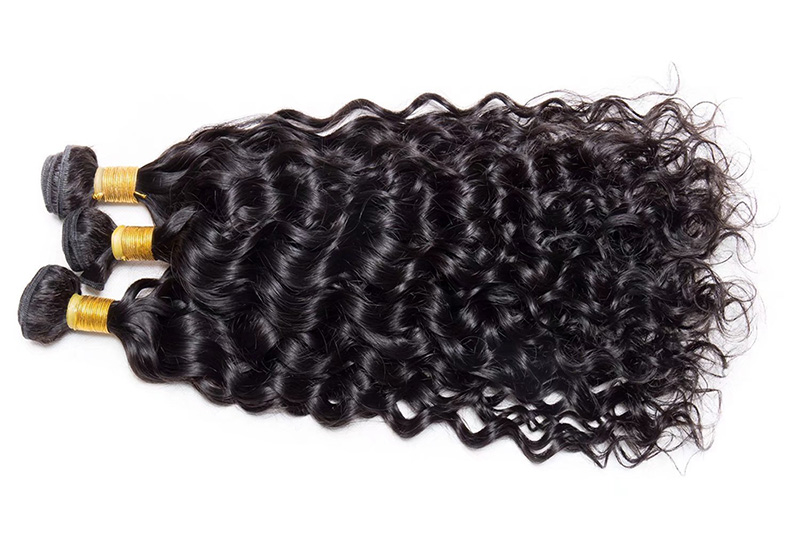 10A Unprocessed Virgin Brazilian Water Hair Weave Pure Real Brazilian Human Hair Weave