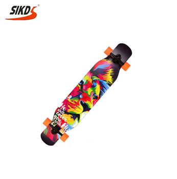 wholesale street dancinglongboard maple longboard deck cheap price OEM service
