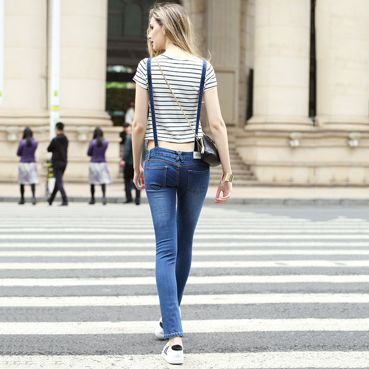 637bcd4659be Woman Sexy Pencil Jeans Stretch Denim Skinny Jeans Overalls Women ...