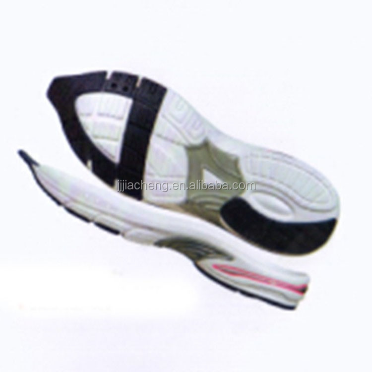 EVA rubber wholesale shoe sole manufacturer for slipper and sandal shoe sole