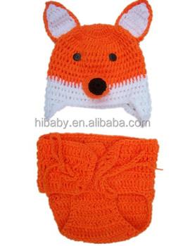 Säuglinge Und Kleinkinder Anzug Kleine Fuchs Modellierung Häkeln