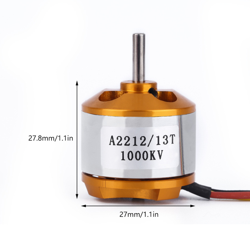 XXD A2212 930KV 1000KV 1400 2200KV 2450KV 2-3S Outrunner Brushless Motor for RC Airplane Helicopter Multicopter Drone F450