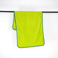 microfiber yarn solid color home towel, bath towel