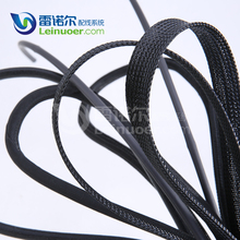 Flame Retardant high quality polyester pet expandable braided sleevings