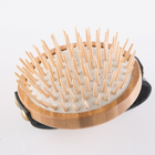Wooden Bristle Detangler Massage Custom Wood Comb Bamboo Babies Hair Brush for Toddlers and Kids