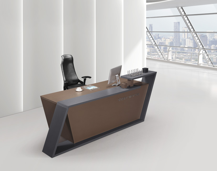 Counter Desk Office Furniture Reception Deskcounter Front Table Panel Standing