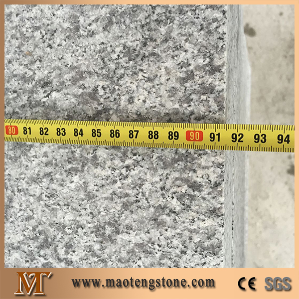 G603 Light Grey Granite Flamed Finished Surface Road Paving Material