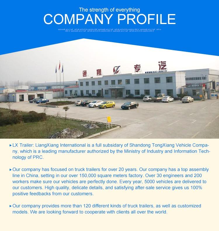 Liangxiang ADR Certificate oil tanker trailer air suspension 42000liter fuel tank trailer