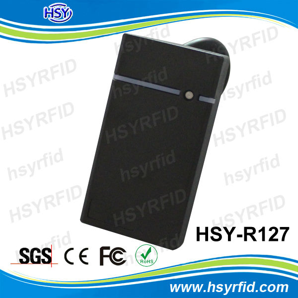 HSY Manufacturer 125khz rfid reader module rs232 with IP65 waterproof