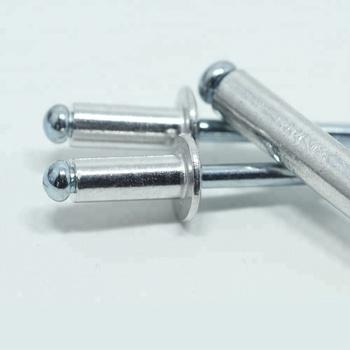 3.2mm  Standard Open Dome Aluminium Steel Blind Pop Rivets