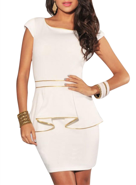 Get Quotations · Vestidos De Fiesta Empire Summer Dress 2015 Limited Short  Saias Women Dress Ladies Women s New Package fb39c3b5c8cb