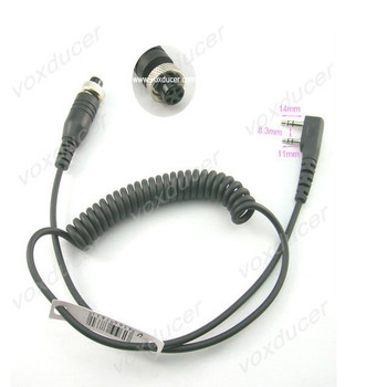 5 Pins Female Connector Cable For Kenwood Baofeng Puxing Wouxun Tyt 2 Pins  Radio - Buy Connector Cable For Kenwood,5 Pins Female Connector,Connector