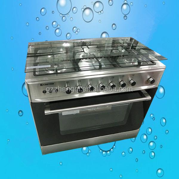 5 Burners Kitchen Appliance brass buner Gas Stove Cooker (ZQW-905S)