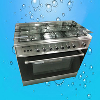 5 Burners Kitchen Appliance brass buner Gas Stove Cooker (ZQW-905S)