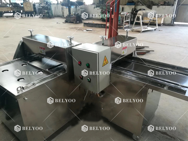 Walnut kernel candy cutting machine/ Rice Cake bar cutter/ Snack Protein Peanut candy making cutting machine