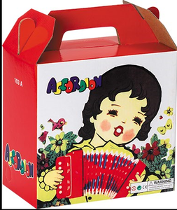 Popular and cheap musical button toy accordions for little kids 2015
