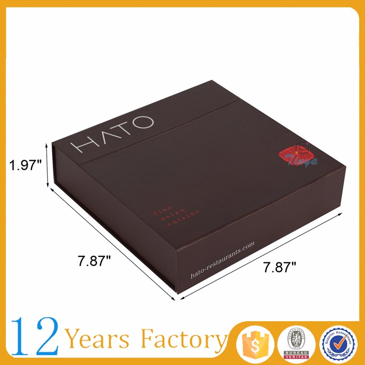 wholesale card recycle magnetic box sushi
