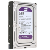 1tb hard disk drive 3.5 inch sata hard drive WD purple HDD special for security DVR NVR