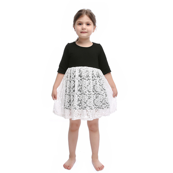 wholesale boutique clothing ivory lace dress latest mommy and me dresses