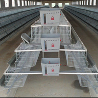 Cages for Laying Hens Used