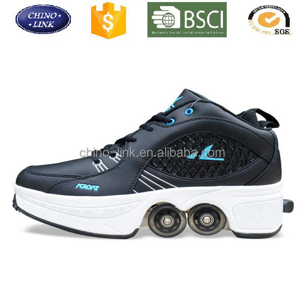 2016 men comfortable hot sell casual shoe, roller skate sneaker for adults