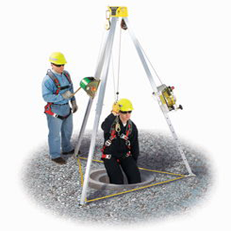 Fire Rescue Safety Equipment,Aluminum Safety Tripod,Safety Lift price