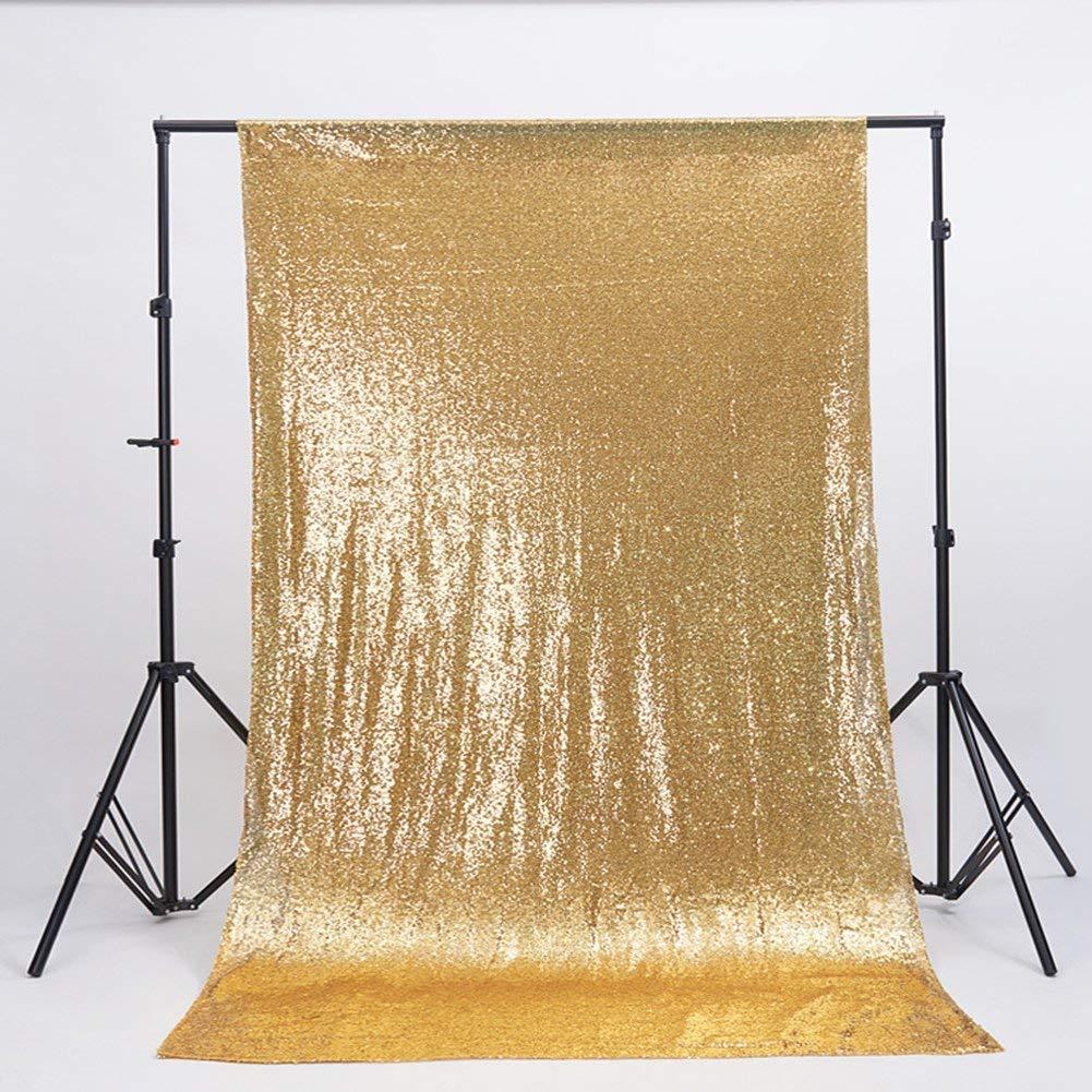 Zdada Gold 8ftx10ft Wedding Party Photography Backdrop Seamless Not Through