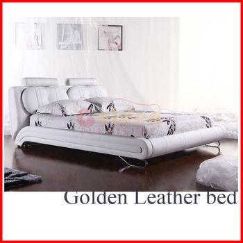 B2815 Modern Platform Leather Bedroom Suites