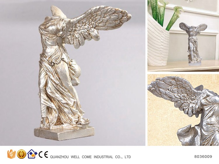 Resin Winged Victory Antike griechische Statue
