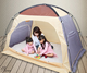 AIOIAI Baby Sleep Bed Anti-Mosquito Tent Kids Foldable Play Tent Children Indoor Play Tent