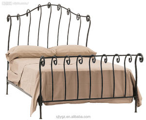 Simple & practical iron bed furniture from Guangzhou Suji