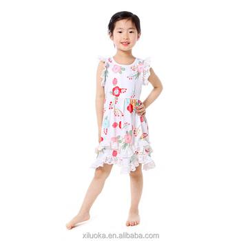 bb7fff4c8fdd Baby Fancy Frocks Styles Flower Girls Dress New Fashion Child Baby ...