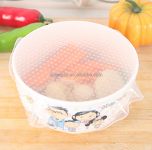 High Quality Food Grade Durable Silicone Eco Food Wrap Popular Preservative Silicone Cling Film For Food Wrap