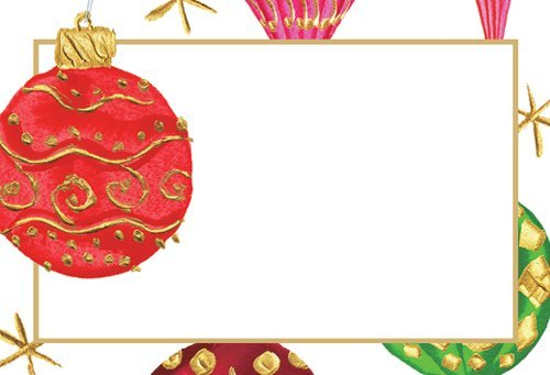 Get Quotations Christmas Place Cards Party Dinner Table Decorations Ornament Pk 20
