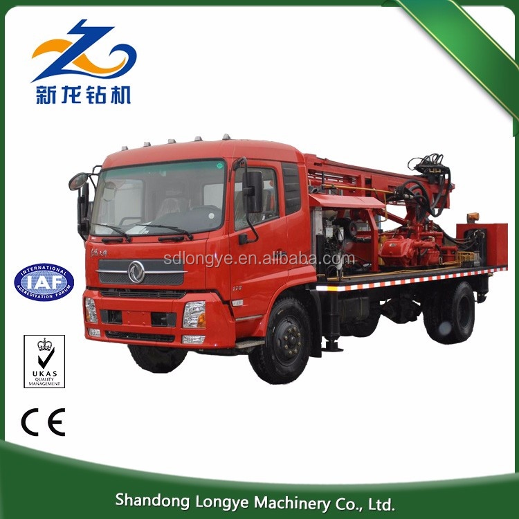 Direct factory supply used SLY300 borehole truck mounted water well drilling rig