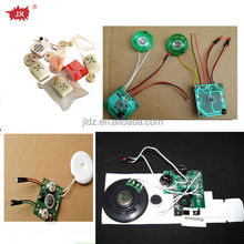 Ic voice recorder module with led light and push button for dolls